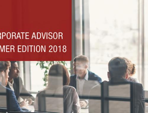 Corporate Advisor Summer 2018