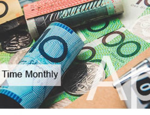 Tax Time Monthly April 2018