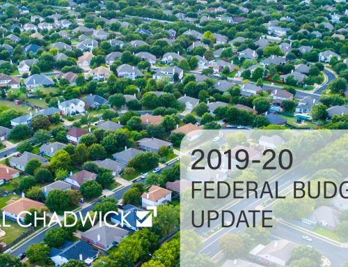 2019-20 Federal Budget Update