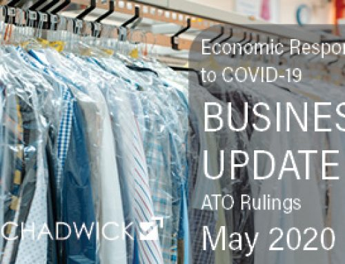 Business Update: ATO Rulings on Cash Flow Boost and JobKeeper subsidies