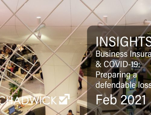 INSIGHTS: Business Insurance & COVID-19 | Preparing a defendable loss claim