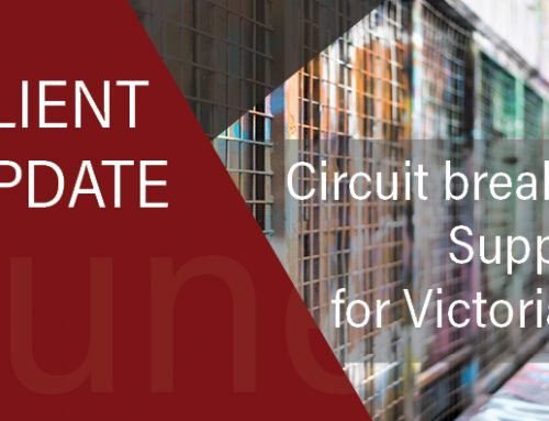 State Lockdown 5.0: Support for Victorians